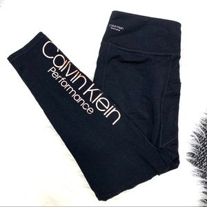 🌸 BOGO Calvin Klein Performance Black Leggings
